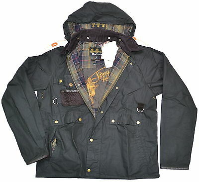 BARBOUR Fishing Standen Waxed Cotton Jacket