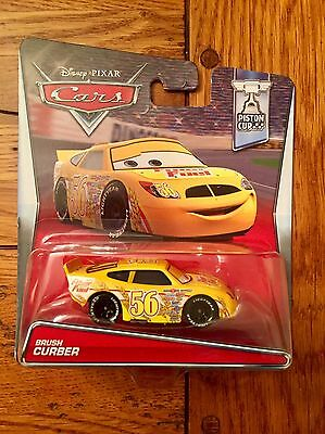 Disney Pixar Cars BRUSH CURBER Fiber Fuel #56 Piston Cup Series