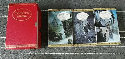 Lord of the Rings J R R Tolkien books complete set centenary edition Vintage