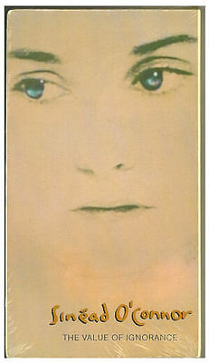 MUSIC VIDEO Sinead O'Connor Rock Music 1988 Vintage VHS Tape New Sealed