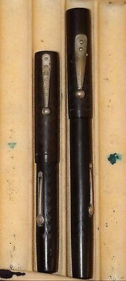 Vintage WATERMAN  BCHR 52 and  52V  Fountain Pen LOT of 2  ALL GOOD