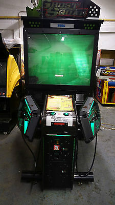 Sega Ghost Squad Deluxe Arcade Machine Coin Op Arcade Working