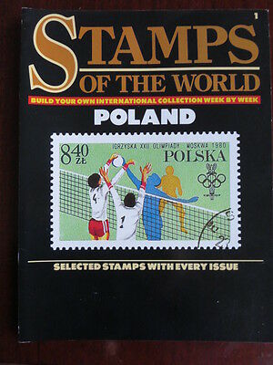 Stamps of the World Magazine Poland includes 20 stamps