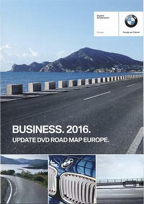 BMW Road Map Europe Business 2016
