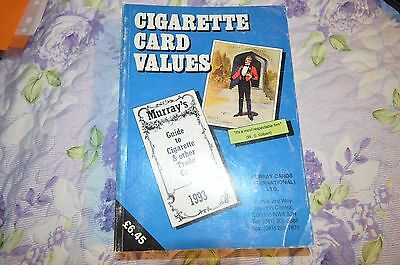 Cigarette Card Values 1993 - Murray Guide To Cigarette & Other Trade Cards