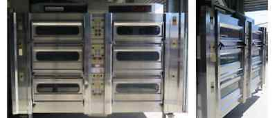 """Rotel ll Bakers Oven, 18"""" 20 Tray 6 Deck"""