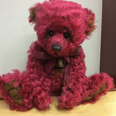 Charlie Bears Pernickety Mohair Jointed Bear New For 2016