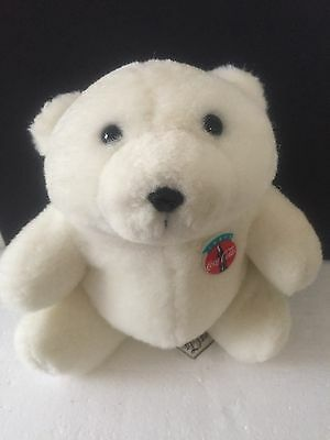 ~Vintage~ 1993 / 1994 Coca-Cola Polar Bear Plush