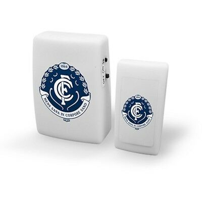 Carlton Blues AFL Wireless Door Bell With Team Song