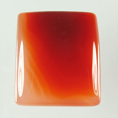 Charming Rectangle Cabochon 39.00 Cts Natural CARNELIAN Gemstone 24x21 mm Trader