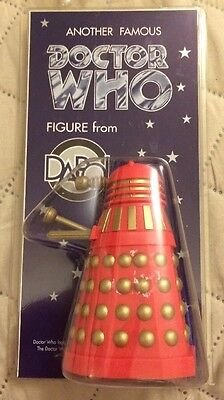 Dapol Doctor Who Dalek Red/Gold W008-7 (1996)