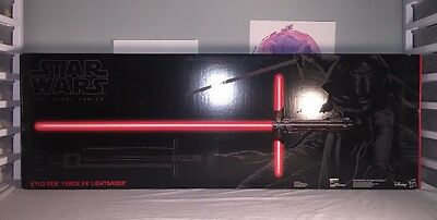 Star Wars The Black Series Kylo Ren Force FX Deluxe Lightsaber NEW