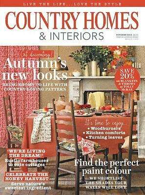 Country Homes & Interiors Magazine October 10/2016 Autumn's New Looks