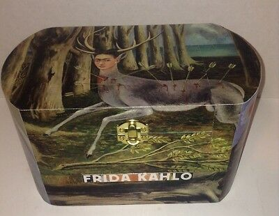"Frida Kahlo, feat. ""The Little Deer"",  jewelry/storage box."