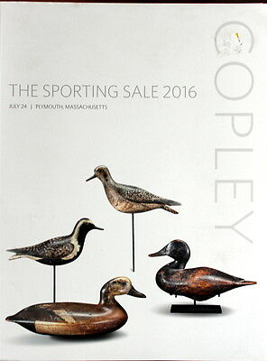 Copley Sporting Sale Carved Birds Decoys Works Of Art 7/24/2016 -C
