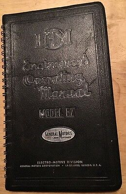 Enginemen's Operating Manual Model F7, 1st Edition, 1949