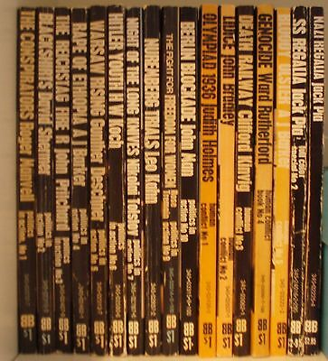 Complete Set of Ballantine's History of the Violent Century - 154 volumes.