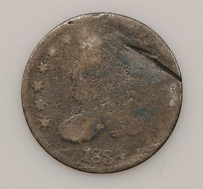 1834 Capped Bust Silver Half Dime *G15