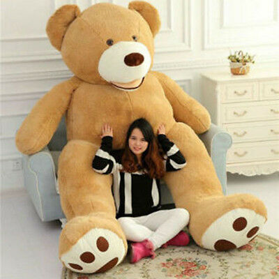 """New 102"""" 260cm 8.5ft Giant Teddy Bear CASE UNFILLED NO PP COTTON Huge Dolls Toy"""