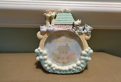 Noah s Menagerie Picture Frame from Russ Baby (Russ Berrie) 4 x4  picture