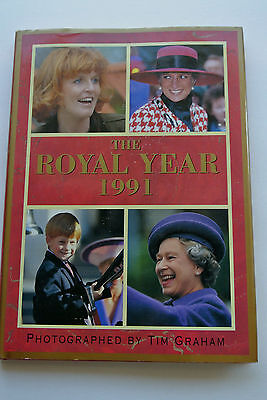 """Book: """"the Royal Year 1991"""", Photographs By Tim Graham, Summit Books, Uk Royals"""