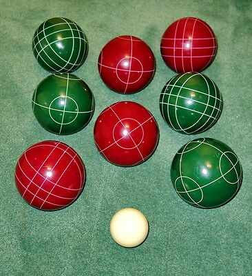 Premium Quality Official Tournament Adult Bocce Ball Set