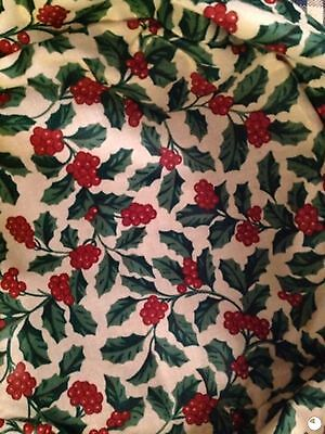 Longaberger Small Fruit Basket Liner  - Holly