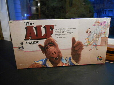 RARE Vintage 1987 ALF Board Game Coleco FACTORY SEALED