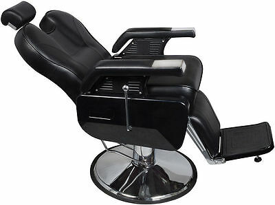 New 4 x Heavy Duty Fashion Hydraulic Barber Chair Recline Salon Beauty Spa Shamp