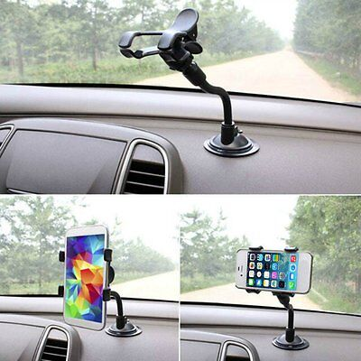 Universal 360~Rotating Car Windshield Mount Holder Stand For Cell Phone /GPS New