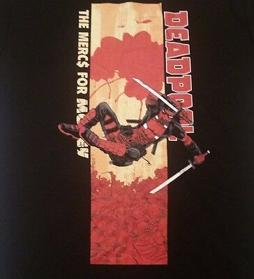 Marvel Comics S T-shirt Deadpool Mercs For Money We Love Fine