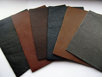 """4""""x3"""" 100% Leather Remnant Repair  Patches - Buy 2 Get One Free"""