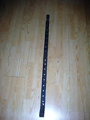 """Antique Early Blacksmith Hand Forged Large Decorated Trammel Extends to 56"""" Long"""