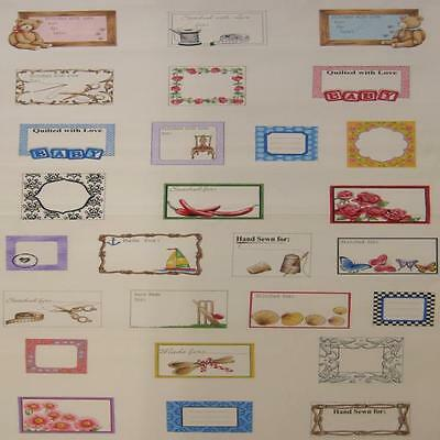 WALL OR QUILT PANELS  - QUILT LABEL - PANEL by NUTEX