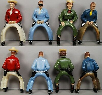 "Hartland 9"" Cowboy 1950s Lot of Parts Figures Accessories ALL ORIGINAL D"