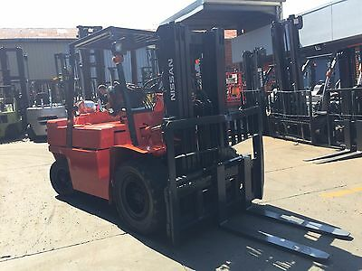 NISSAN Forklift 4.5Ton 4.3m Lift Wide Carriage Container Mast $16999+ Negotiable