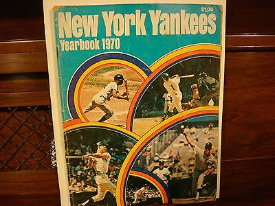 New York Yankees Yearbook 1970 Good Condition