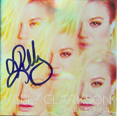 Kelly Clarkson signed Piece By Piece cd