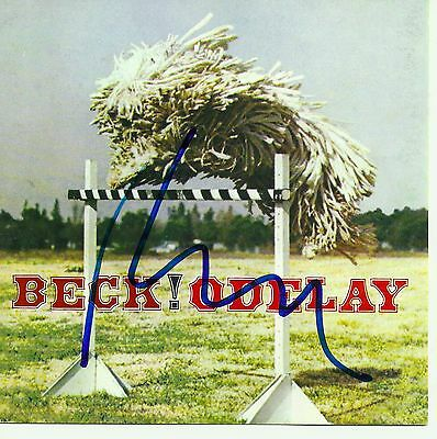 Beck signed Odelay cd