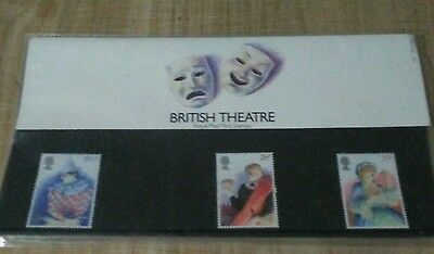 British Theatre Royal Mail Mint Stamps Issued 1982