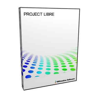 Project Libre Task Product Management 2016 Microsoft MPP Compatible Software