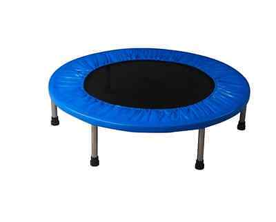 """Airzone 48"""" Fitness Band Trampoline - Blue Workout Yoga Gear Yard Fun Training"""