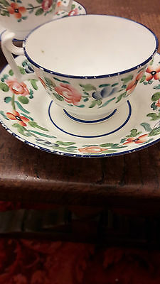 Pair of 18th century cups and saucers