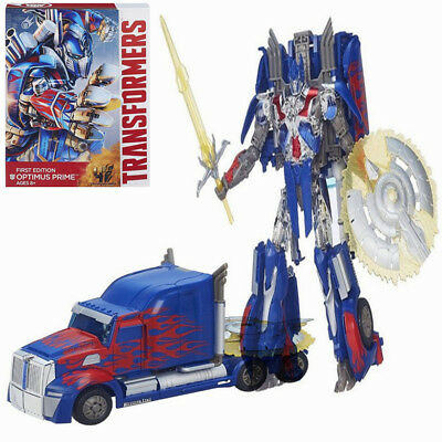 Transformers Optimus Prime Leader Ver Action Figure Roboter Spielzeug Toys BOXED