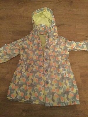 Girls marks and spencer waterproof coat age 4 to 5