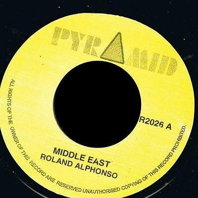 "ROLAND ALPHONSO - Middle East + Jungle Bit 7"" Jamaica*Pyramid*"