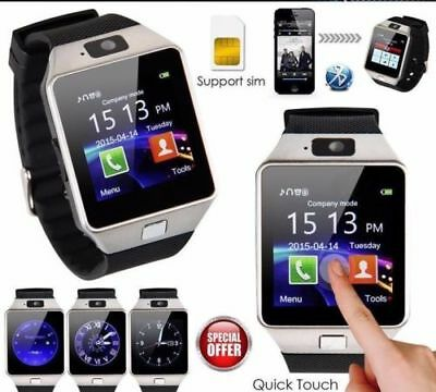 Bluetooth DZ09 Reloj Inteligente para Android HTC Samsung iPhone IOS Cámara SIM