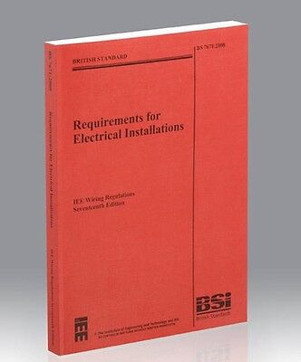 17TH EDITION IEE WIRING REGULATIONS BS 7671: 2008/Electrical Installations EXCLT