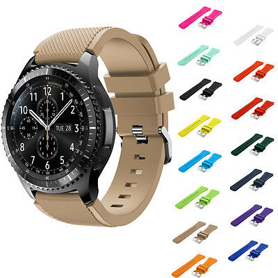 Luxury Samsung Gear S3 Frontier Classic Watch Strap Silicone Replacement Band