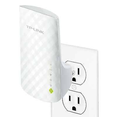 TP-Link RE200 AC750 Universal Wireless Dual Band Range Extender 2.4GHz 300Mbp...